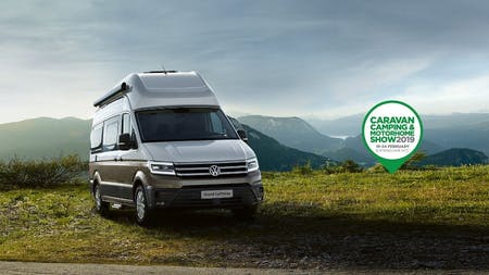 Grand California makes UK debut at Caravan, Camping and Motorhome Show
