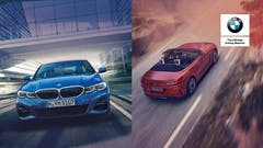 THE NEW BMW 3 SERIES AND BMW Z4.
