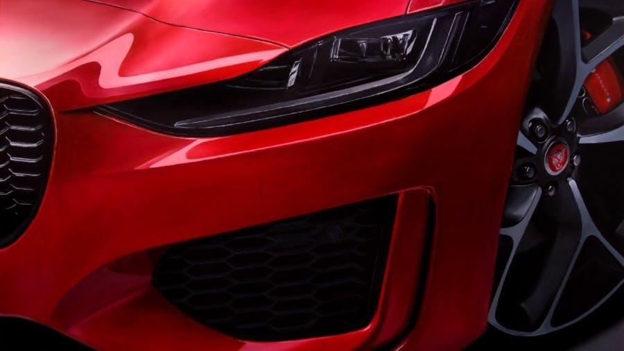New Jaguar XE Is A Hyper-Real Work Of Art