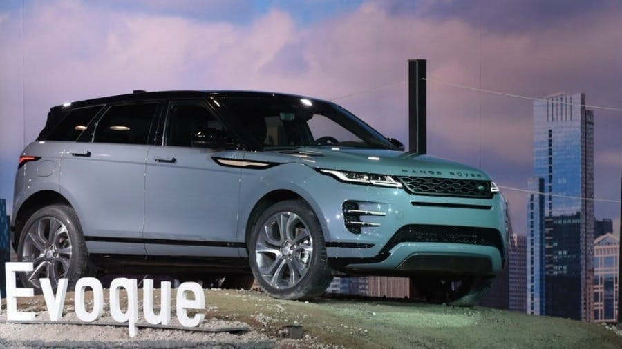 New Range Rover Evoque Makes Dynamic U.S. Debut In Chicago