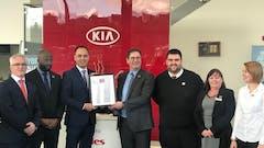 BEADLES KIA STARTS 2019 WITH CUSTOMER EXPERIENCE AWARD WIN