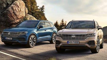 Volkswagen Touareg gets 340PS petrol flagship model