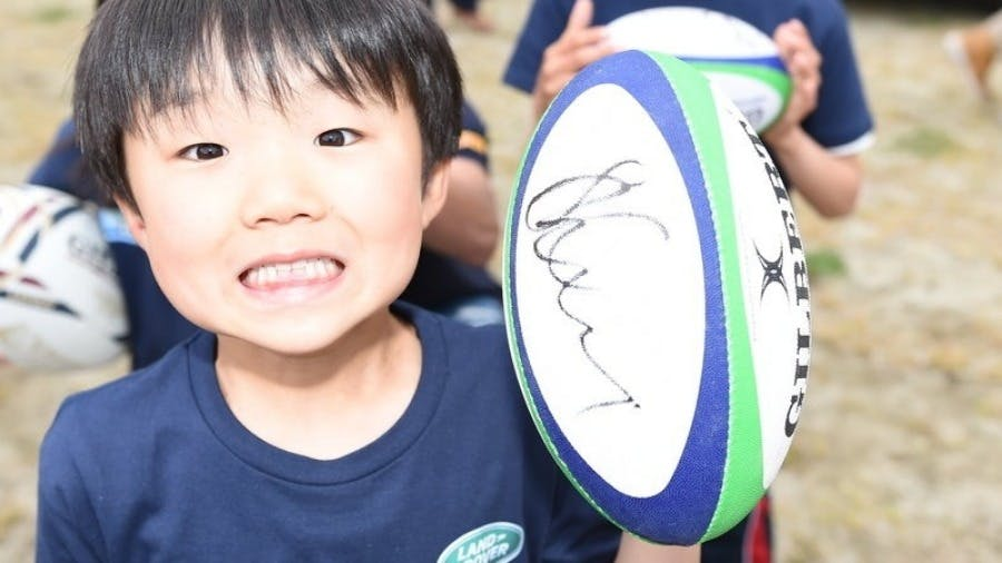 Land Rover And Japan Rugby Union Join Forces To Help Grow The Game Ahead Of Rugby World Cup™