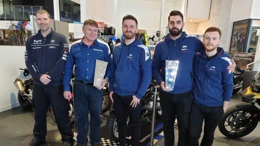 Chandlers Bikes named BMW Motorrad UK Overall Retailer of the Year 2018.