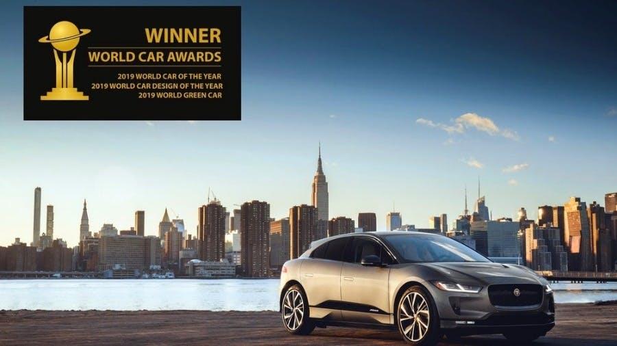 I-PACE Wins Unprecedented Treble At 2019 World Car Awards