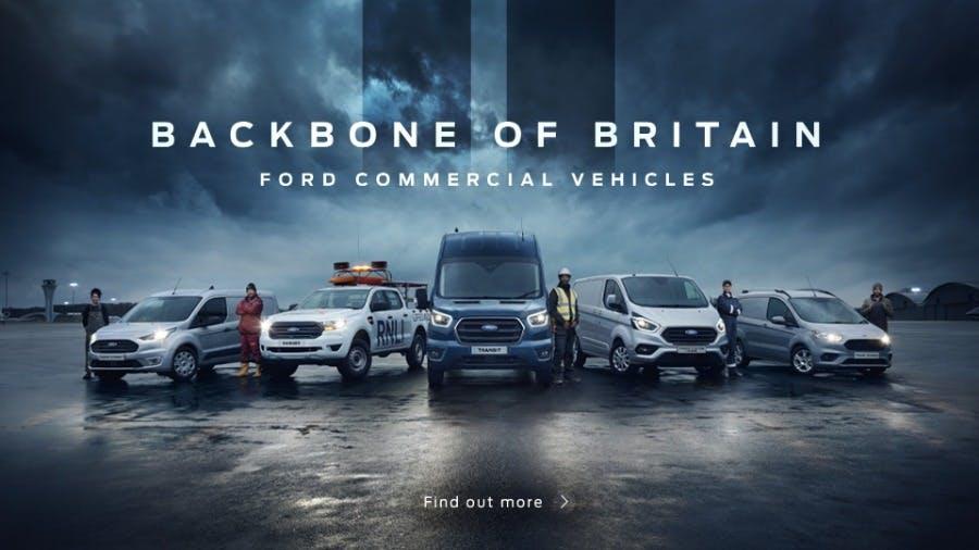Ford Transit - The Backbone of Britain