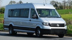 Volkswagen Crafter Minibus to be unveiled at the 2019 CV Show.