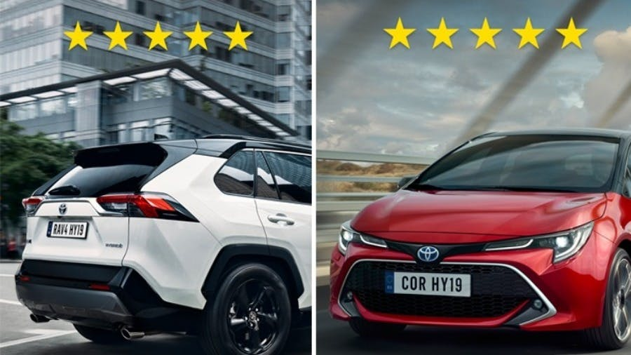 All-New Toyota RAV4 and Corolla Top Euro NCAP Safety Test