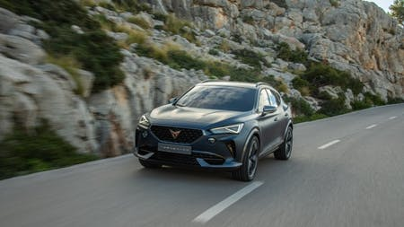 First Dynamic Pictures of CUPRA Formentor Revealed