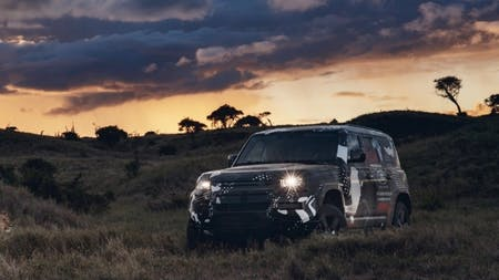 New Land Rover Defender Completes Tusk Testing To Support Lion Conservation In Kenya