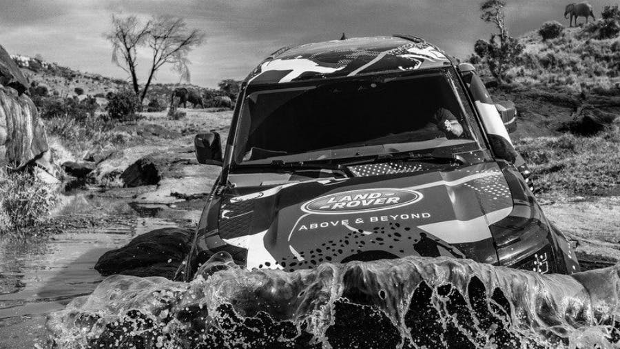 Access All Areas: World Famous Photographer David Yarrow Captures Unique Wildlife Images Thanks To New Land Rover Defender