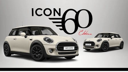 Introducing the MINI Icon 60 Edition.