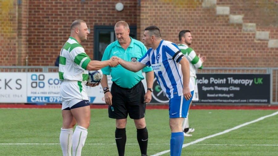 Chandlers Worthing vs Chandlers Brighton football match