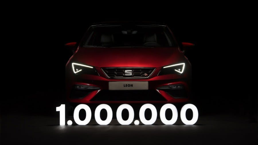 SEAT Celebrates One Million Leon Sales