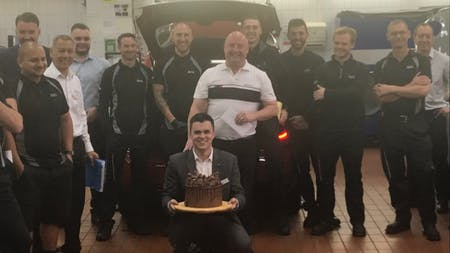 Parts Manager celebrates 30 years with Chandlers Hailsham!