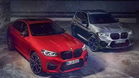The new BMW X3 M & X4 M Competition.