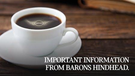 Barons Hindhead MINI Bodyshop Closure