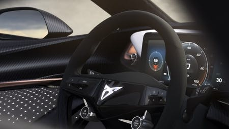 CUPRA Teases the Interior of All Electric Concept Car