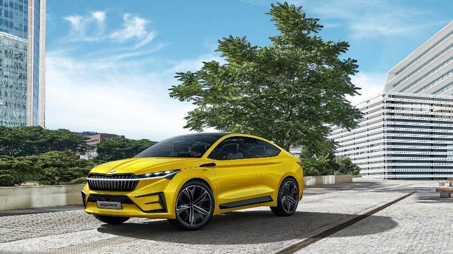 Readers choose ŠKODA VISION iV as best concept car