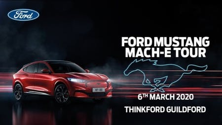 Join us for the All-Electric Mustang Mach-E Tour