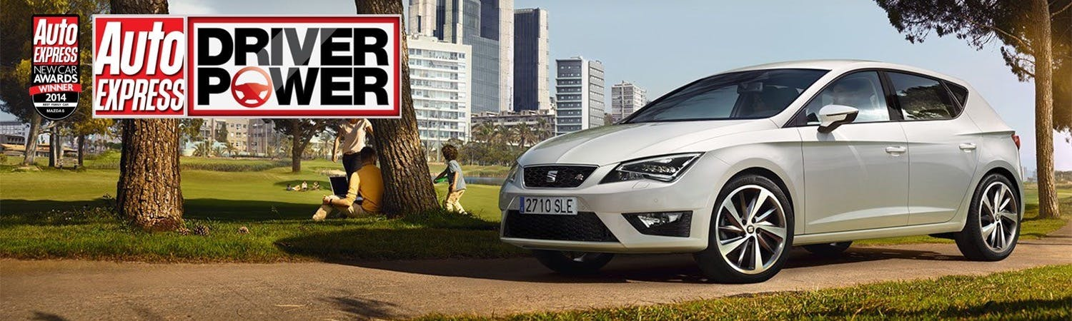 SEAT Leon Wins Again in the Auto Express Driver Power 2015 Survey