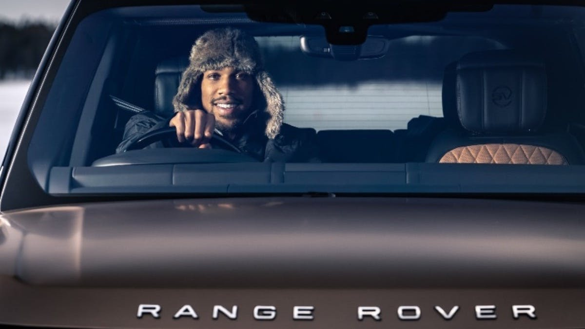 50 YEARS OF RANGE ROVER: LAND ROVER AND ANTHONY JOSHUA CELEBRATE GOLDEN JUBILEE FOR LUXURY SUV