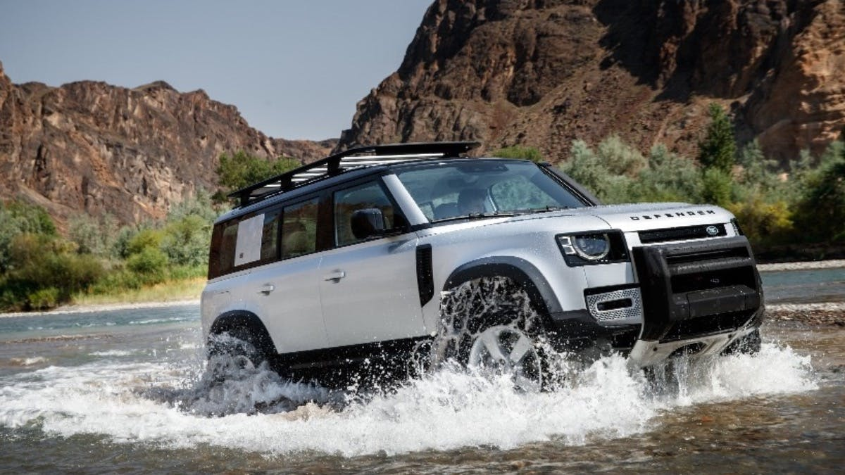 Going Above & Beyond in the new Defender