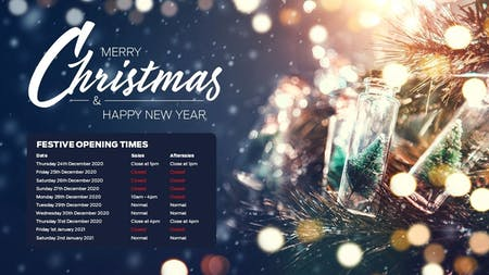 Think Ford Christmas Opening Hours