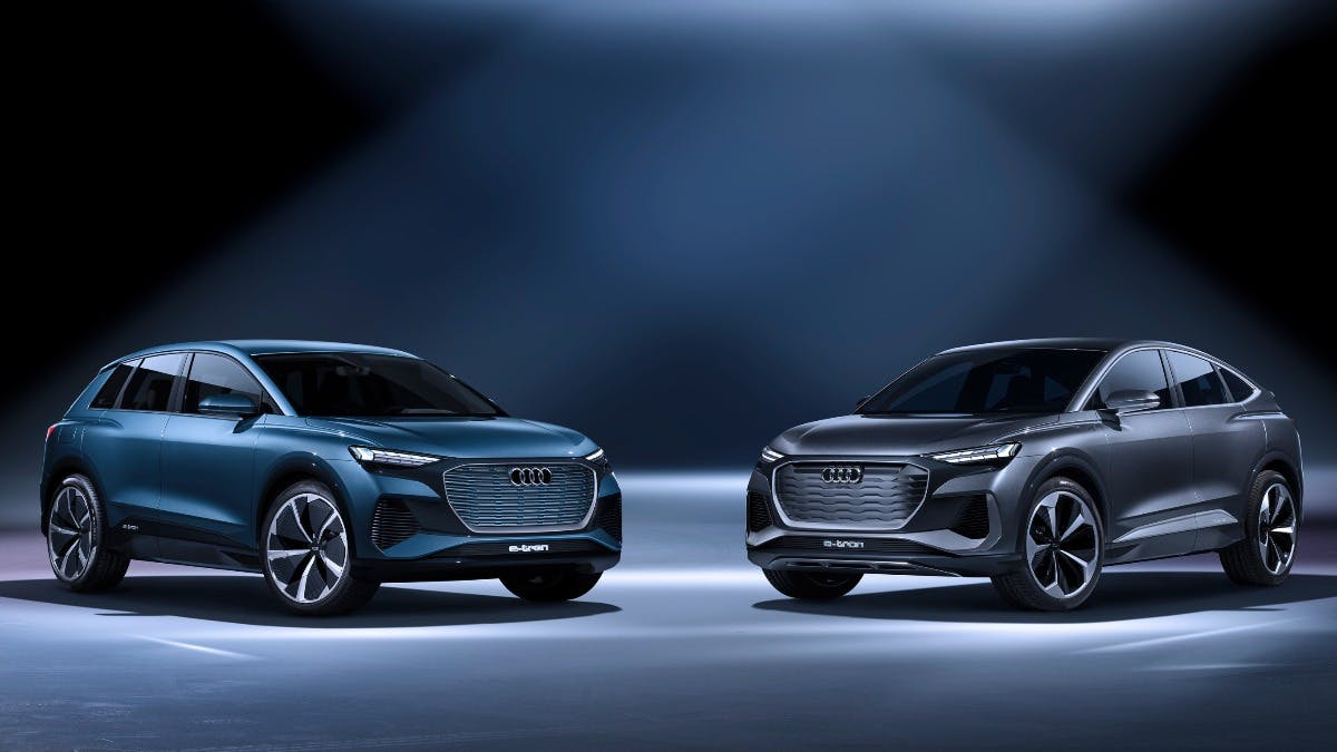 First look: The Audi Q4 e-tron concept