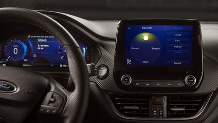 FORD AND B&O BEOSONIC™ PUT PERFECT SOUND AT YOUR FINGERTIPS
