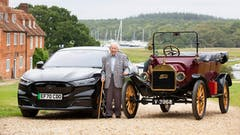 101-YEAR-OLD DRIVES FORD MUSTANG MACH-E 90 YEARS AFTER FIRST LEARNING TO DRIVE IN A MODEL T