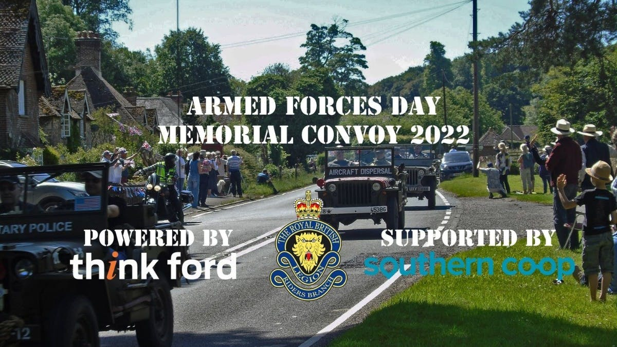 ARMED FORCES DAY MEMORIAL CONVOY 2022