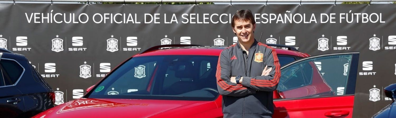 SEAT, NEW SPONSORING PARTNER OF THE SPANISH NATIONAL FOOTBALL TEAM