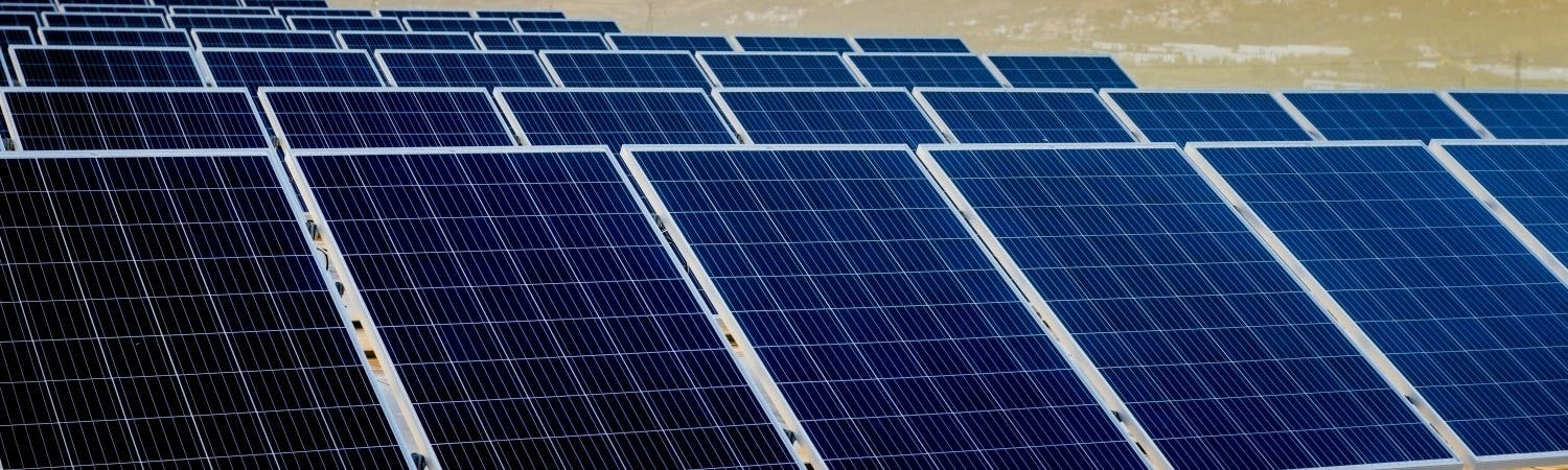 53,000 SOLAR PANELS HARNESSING THE POWER OF THE SUN