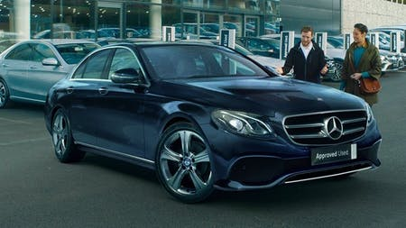 Approved Used E-Class Saloon from £249* per month.