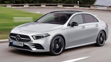 A-Class Saloon Revealed