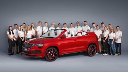 ŠKODA SUNROQ: ŠKODA Vocational School Students Present Fifth Concept Car