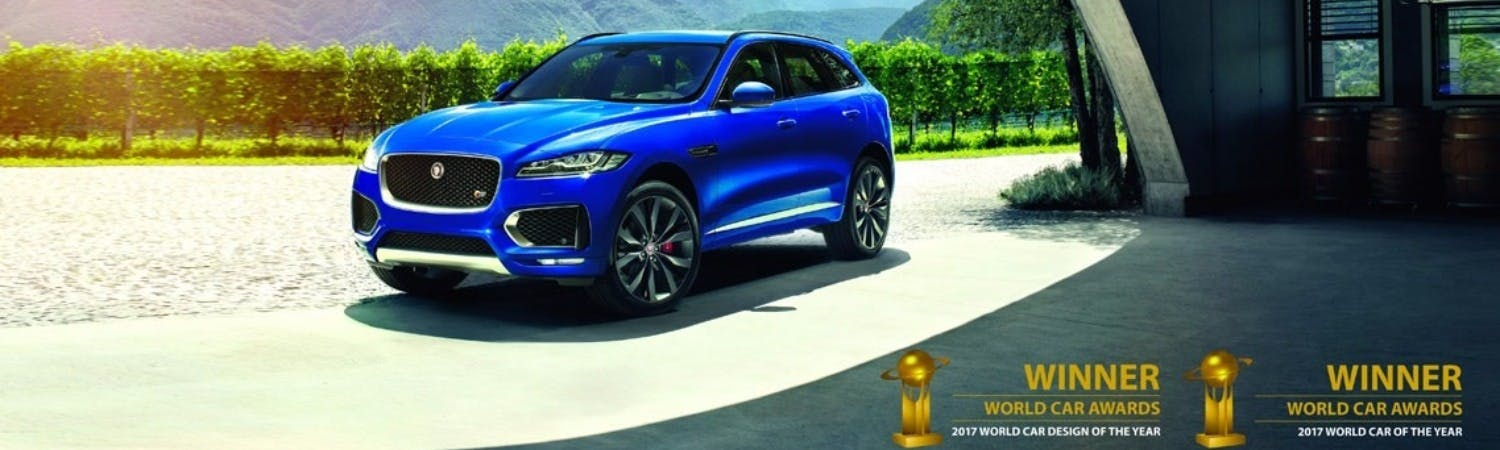 Jaguar F-Pace World Car Of The Year