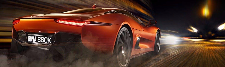 Jaguar cars in 007 spectre