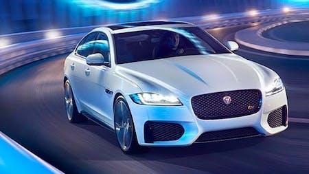 The New Jaguar XF
