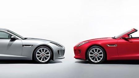 New Jaguar F-TYPE Models