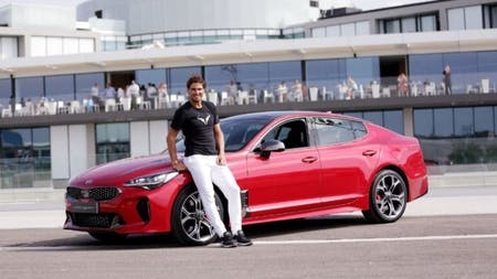 Rafael Nadal Challenged Off-Court In All-New KIA Stinger