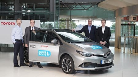 Toyota Provides Charity Partner Guide Dogs With New Auris