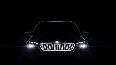 World Premiere In Geneva: ŠKODA VISION X Study Combines CNG, Petrol & Electric Drive