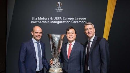 KIA Celebrates New UEFA Europa League Sponsorship Agreement