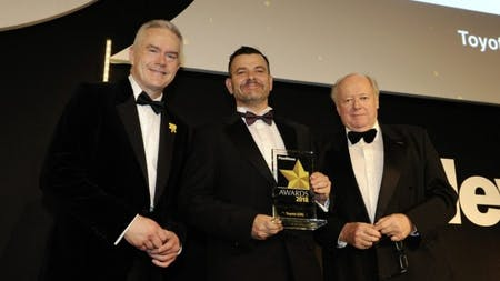 Toyota Takes Green Fleet Manufacturer of the Year Title in Fleet News Awards