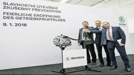 ŠKODA AUTO expands its development centre and puts new gearbox test stands into operation