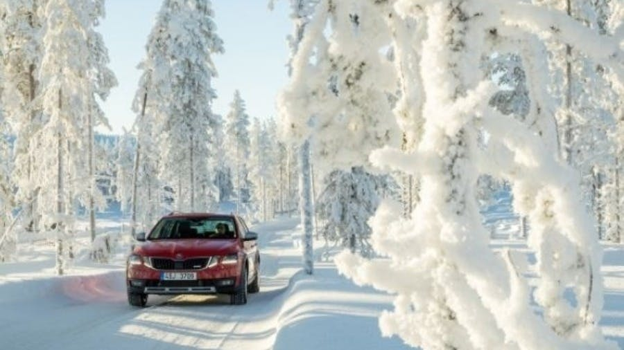 ŠKODA 4×4: safety and driving pleasure in any situation