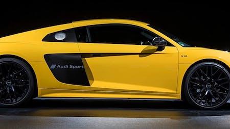 Audi R8 Sideblade Script