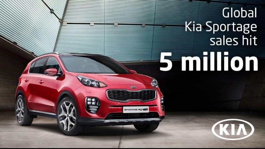 KIA Sportage Hits 5 Million Global Sales